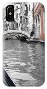 Voyage Of Venice IPhone Case