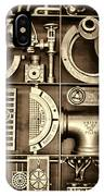 Vulcan Steel Steampunk Ironworks IPhone Case