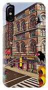 Vultures On Main Street IPhone Case