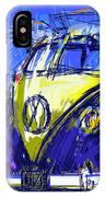Vw Bus Blue IPhone Case