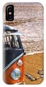 Vw Love On Beach IPhone Case