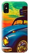 Classic Surf Rod IPhone Case