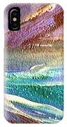 W 034-comet IPhone Case