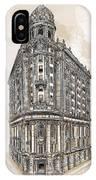 Wabash Station Pittsburgh, Pennsylvania, Circa 1905 IPhone Case