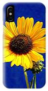 Wabi-sabi Sunflower IPhone Case