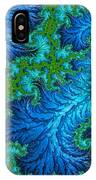 Fractal Art - Wading In The Deep IPhone Case