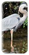 Wading In The Water IPhone Case