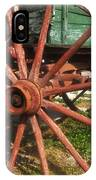 Wagon And Wheel IPhone Case