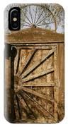 Wagon Wheel Gate IPhone Case