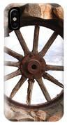 Wagon Wheel Window IPhone Case