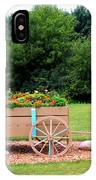 Wagon With Flowers IPhone Case