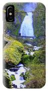 Wahkeena Falls IPhone Case