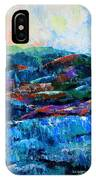 Waianae Mtn Range Oahu IPhone Case