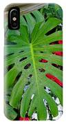 Waikiki Split Leaf IPhone Case