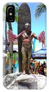 Waikiki Statue - Duke Kahanamoku IPhone Case