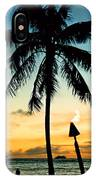 Waikiki Sunset IPhone Case