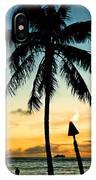 Waikiki Sunset IPhone Case
