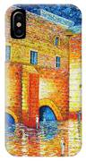 Wailing Wall Original Palette Knife Painting IPhone X Case