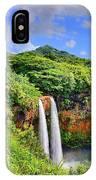 Wailua Falls Kauai IPhone Case