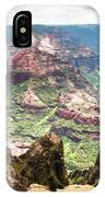Waimea  Canyon Splendor,  IPhone Case