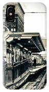 Waiting For The Blue Line IPhone Case