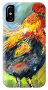 Wake Up Call IPhone Case