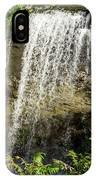 Walcott Waterfall Panorama IPhone Case by William Norton