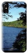 Walden Pond End Of Summer IPhone Case
