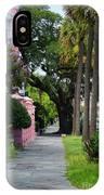 Walk Along Rainbow Row IPhone Case