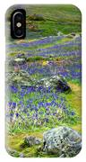 Walk Among The Bluebells IPhone Case