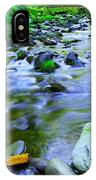 Walk Bridge Over Moffit Creek IPhone Case