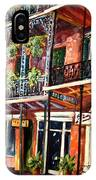 Walk In The French Quarter IPhone Case