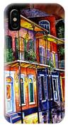 Walk Into The French Quarter IPhone Case