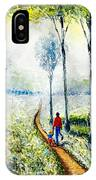 Walk Into The World IPhone Case