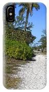 Walk To The Beach IPhone Case