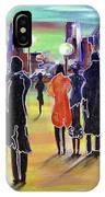 Walking In Paris IPhone Case