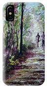 Walking In The Light IPhone Case