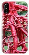 Walking Roots Sculpture IPhone Case