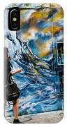 Walking Through The Waves . IPhone Case