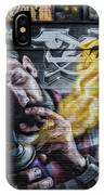 Wall In Fire IPhone X Case