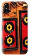 Wall Of Records IPhone Case