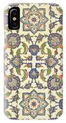 Wall Tiles Of Qasr Rodouan IPhone Case