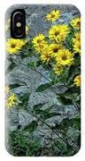 Wallflower Ain't So Bad IPhone Case
