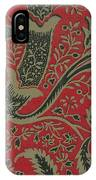 Wallpaper Sample With Bamboo Pattern By William Morris IPhone Case