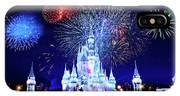 Walt Disney World Fireworks  IPhone X Case