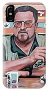 Walter Sobchak IPhone Case