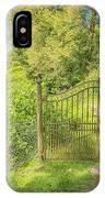 Wanas Castle Secret Gate IPhone Case