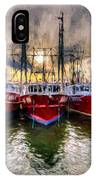 Wanchese Fishing Company Fleet IPhone Case