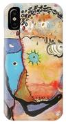 Wandering In Thought IPhone Case