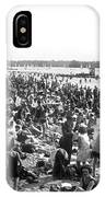 Wannsee Beach In Berlin IPhone Case